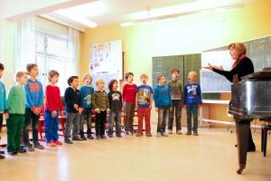 Gesangsstunden mit den Thomaneranwärtern